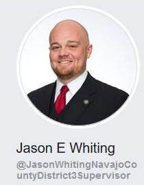 Jason Whiting District III Navajo County Supervisor that is not representing the Chevelon Canyon areas at all on sPower wind farm massive $1 billion project that will affect property owners and residents there horribly